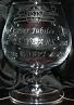 Small photograph of a FISTS 25th Anniversary Brandy glass.