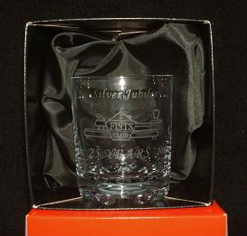 Photograph of whisky glass