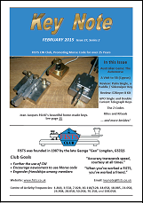 Small image of FISTS February 2015 Key Note cover.