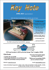 Small image of FISTS April 2015 Key Note cover.