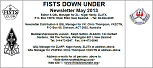 Small image of the FISTS Down Under Newsletter cover page.