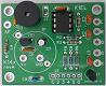 Small photograph of assembled Hamcrafters K14-EXT PCB.