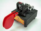 Small image of the Vibroplex Standard Upgraded Vibrocube Iambic Paddles.