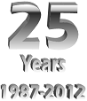 Image saying '25 Years 1987-2012'